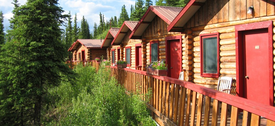 Anchorage, Talkeetna, and our Cabin in Denali