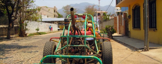 Driving a Dune Buggy to the Tequila Factory