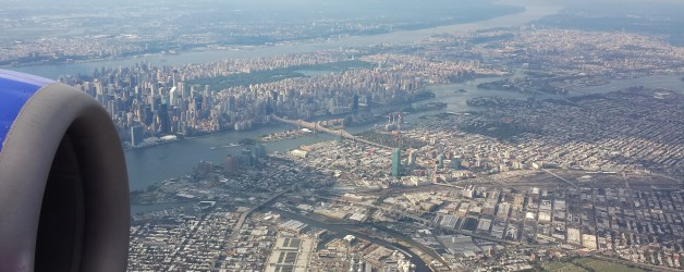 Arriving in New York