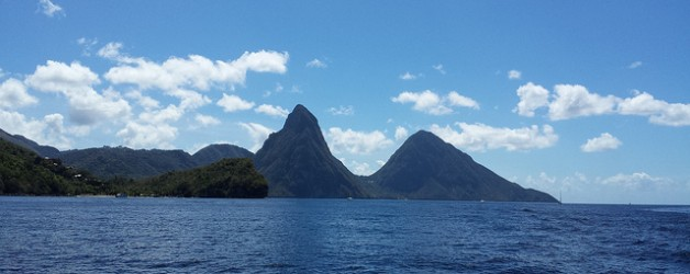 Matt's Birthday with the Pitons in St Lucia