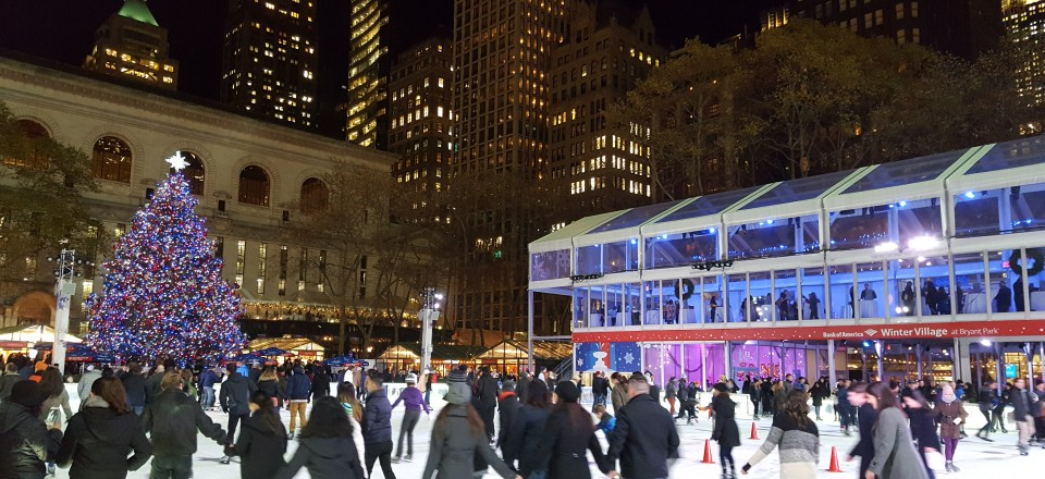 New York for Hamilton (and Christmas, and The Great Comet)
