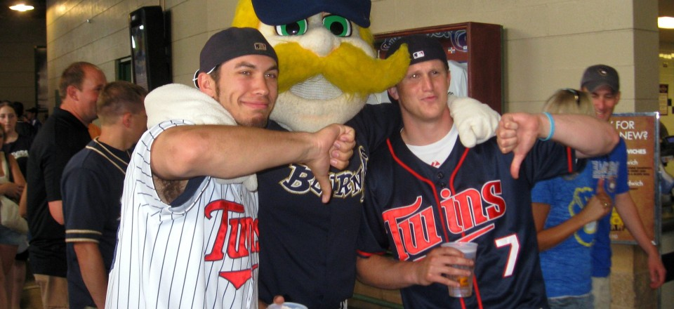 Milwaukee for a Bad Twins Game