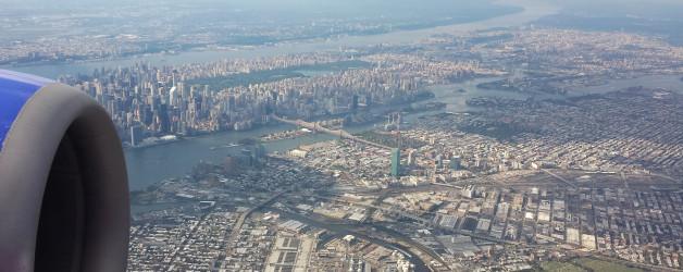 Arriving in New York